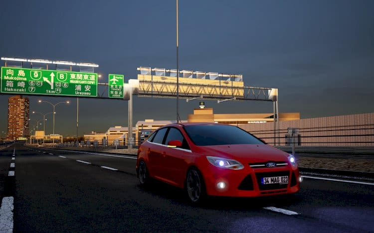 Assetto Corsa Ford Focus 3 sedan