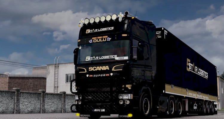 Scania V8 Crackle Version [New Rework v.11] - [Sound] - [1.38]