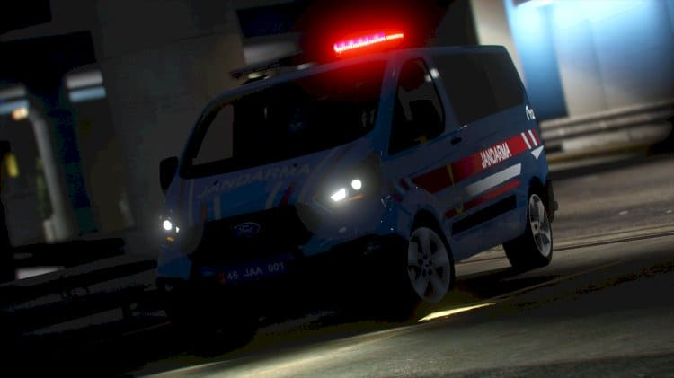 Ford Custom Jandarma Aracı (ELS)