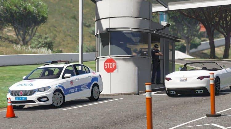 FIAT Egea Polis Aracı Modu GTA5