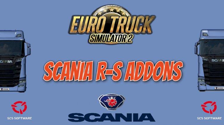 Scania R-S Addons v5.7  1.39