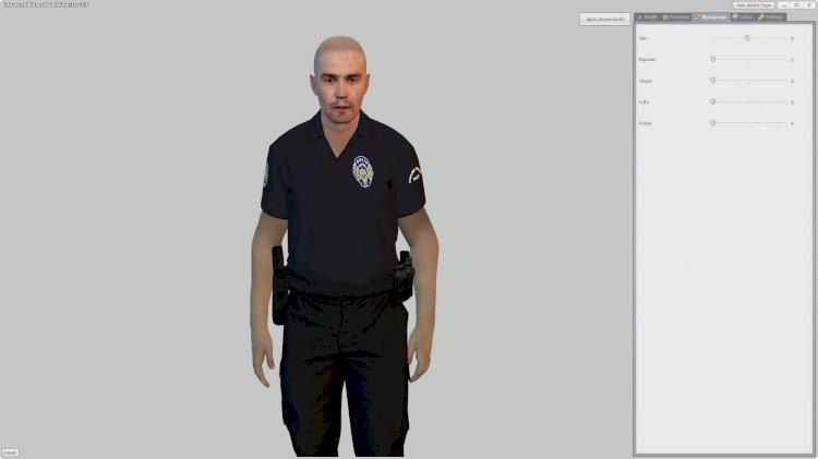 [NPC | Playermodel] 2019 / 2020 Türk Polis Memuru Üniforması (Asayiş/Çevik Kuvvet/KEM)