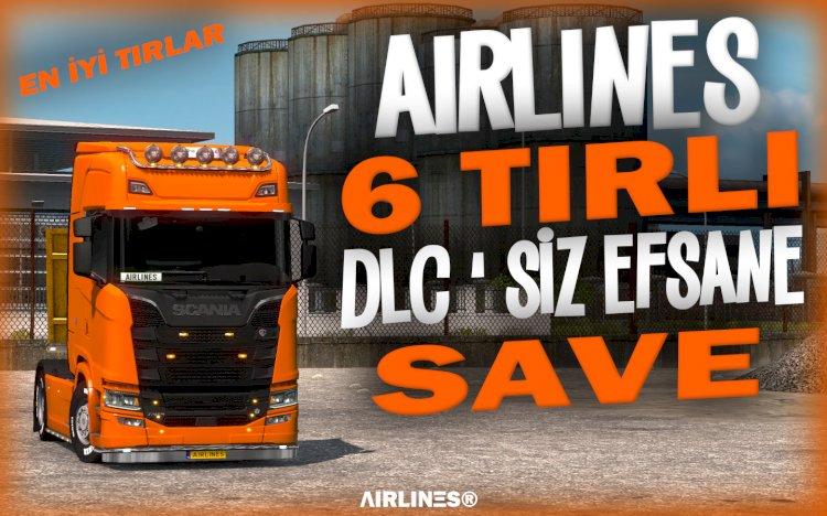 AIRLINES 6 TIRLI DLC'SİZ SAVE 1.39