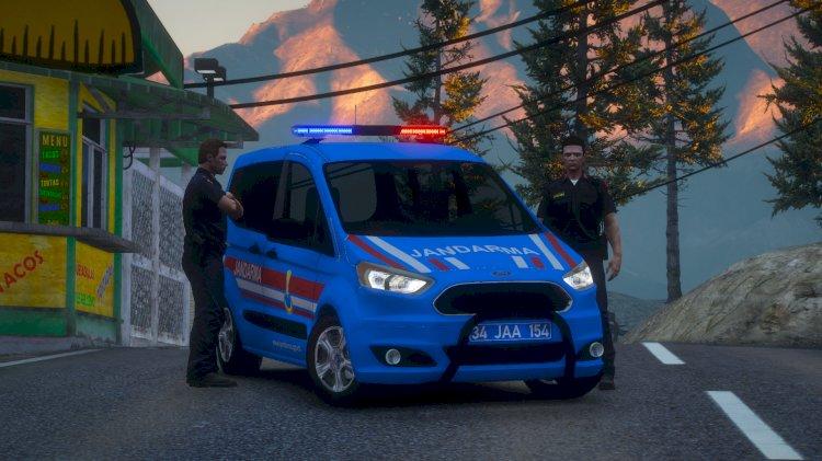 Ford Tourneo Courier Jandarma Asayiş [ELS] - [Replace] V1.1