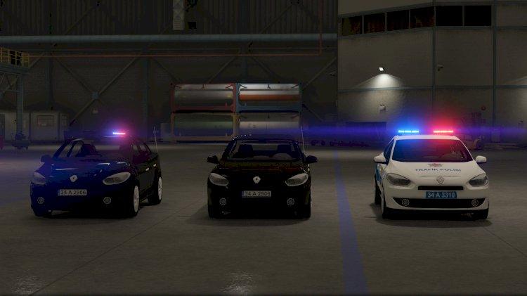 Renault fluence phase I Polis araci paketi [Replace - ELS] ⭐