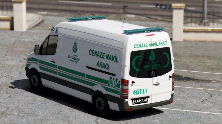 Mercedes Sprinter Cenaze Nakil Aracı [Kaplama]