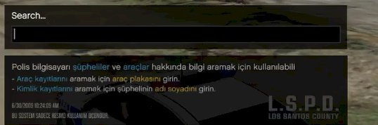 LSPDFR Türkçe Dil