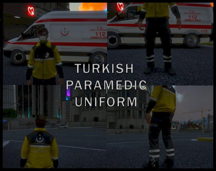 Turkish Paramedic Uniform