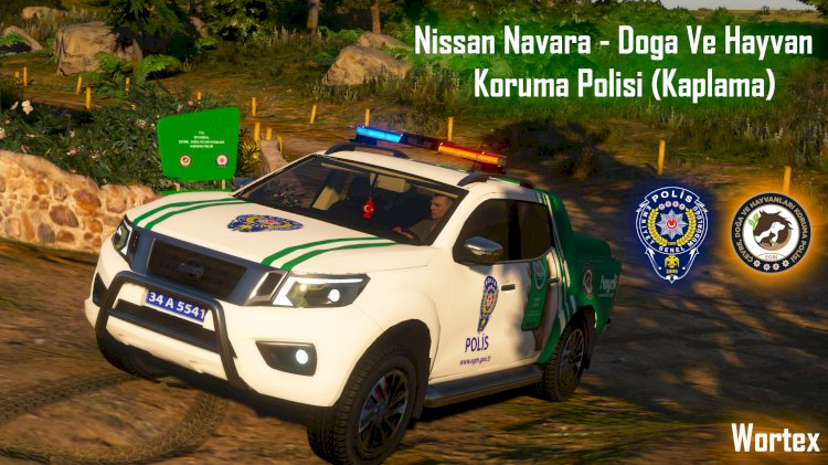 Nissan Navara - Doğa Ve Hayvan Koruma Polisi (Kaplama)