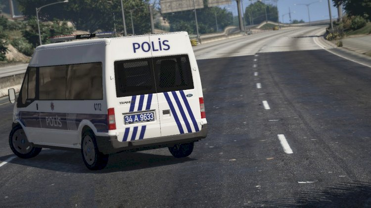 Ford Transit 2010 | Turkish Police And Gendarme [ELS] [REPLACE] [REFLECTOR]
