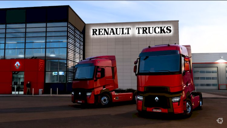 Dünya Lansmanı ! Yeni Renault Trucks T 2021 Çıktı ! Renault Trucks T & T High: Evolution