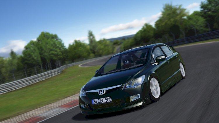 AssettoTR Honda Civic FD6 1.6 Elegance ⭐