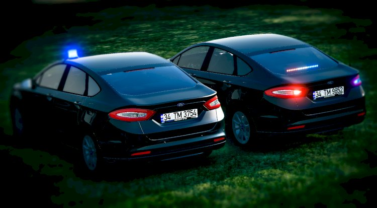 Ford Fusion - Unmarked [ELS] ⭐