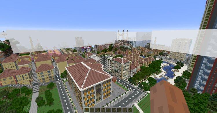 Altınova Şehri Haritası v.0.01 Minecraft
