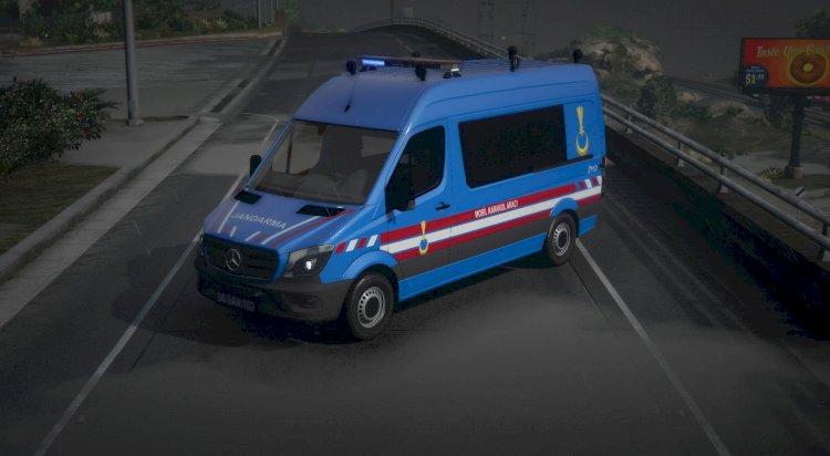 MB Sprinter Mobil Karakol Aracı [ELS|Replace]