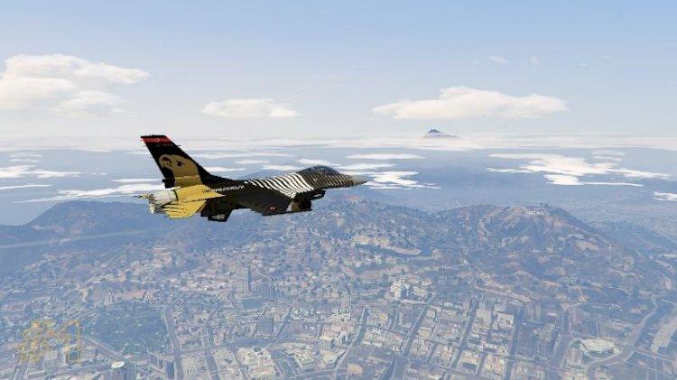 F-16C SoloTürk Kaplaması